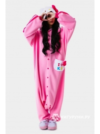Кигуруми «Милая кошечка» розовая