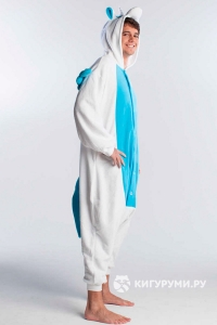 Кигуруми «Пегас голубой»