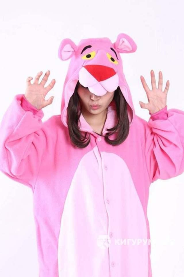 Кигуруми «Розовая пантера»