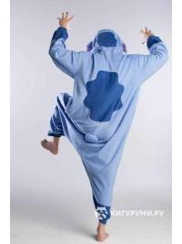 Кигуруми «Пришелец» голубой
