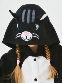 Кигуруми детский «Черный кот»