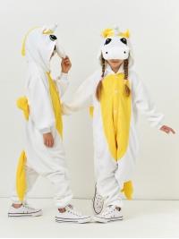 Кигуруми детский «Пегас желтый»