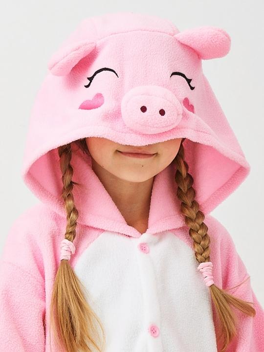 Кигуруми детский «Свинка»