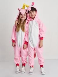 Кигуруми детский «Единорог розовый»