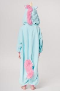 Кигуруми детский «Единорог голубой»