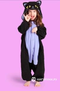 Кигуруми детский «Ночной кот»