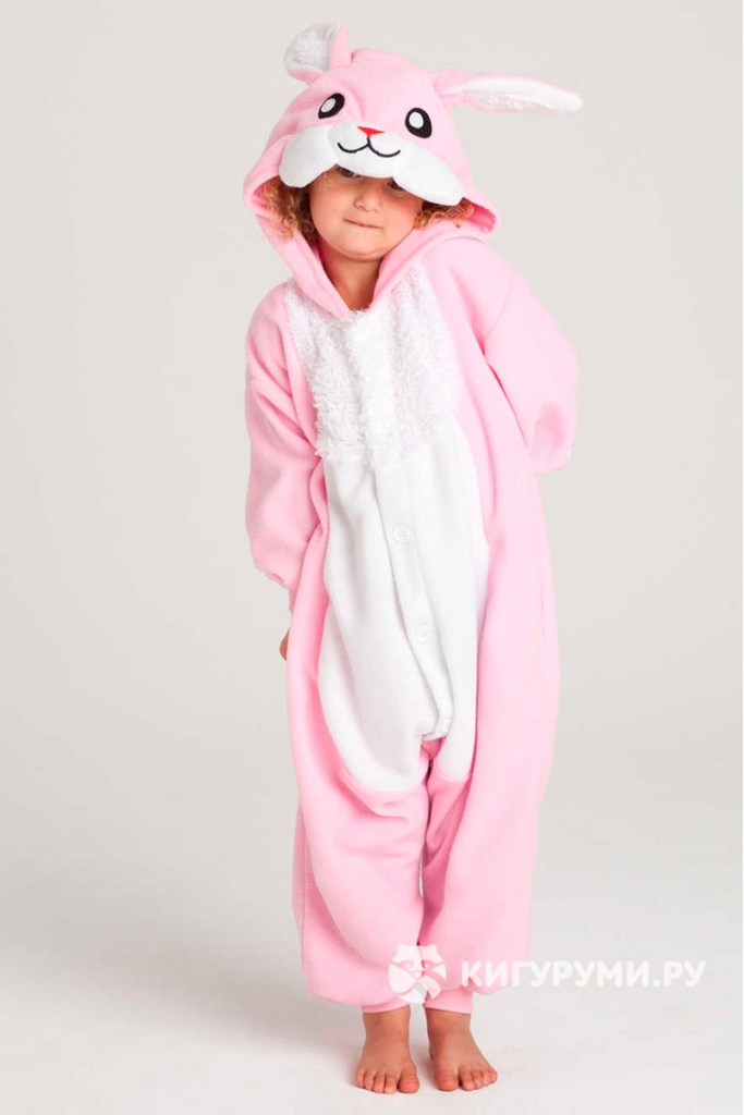 Кигуруми детский «Заяц»