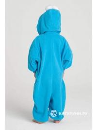 Кигуруми детский «Синий монстрик»