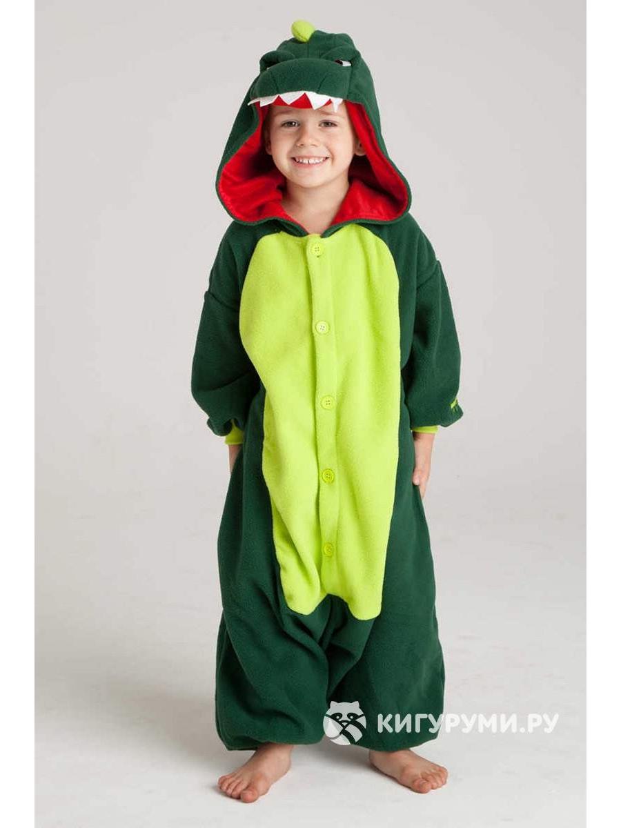 Кигуруми детский «Динозавр»