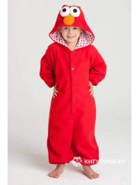 Кигуруми детский «Красный монстрик»