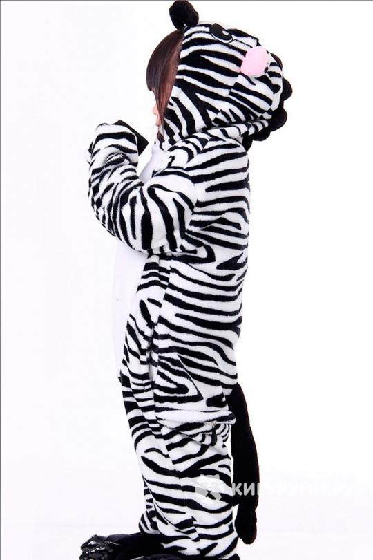 Кигуруми детский «Зебра»