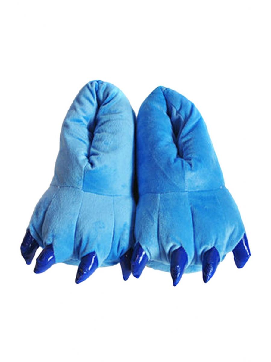 Тапки-лапки синие