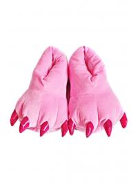 Тапки-лапки светло-розовые
