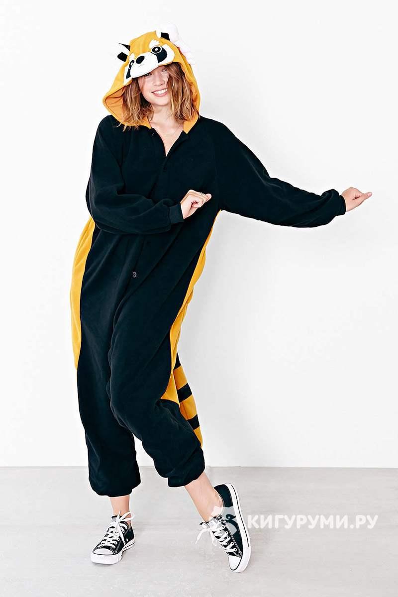 Кигуруми Енот в интернет магазине kigurumi.ru - пижама Енот 002b5c38dcf21